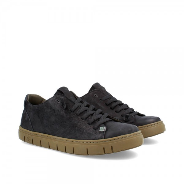 SNEAKERS KRAZ BLACK-KHAKI