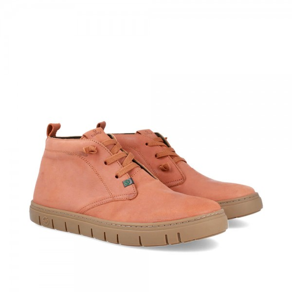 BOTINES LUCIAN BROWN-CARAMELO