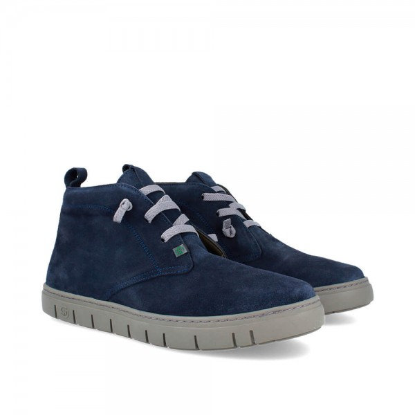 BOTINES LUCIAN NAVY-ANTHRACITE