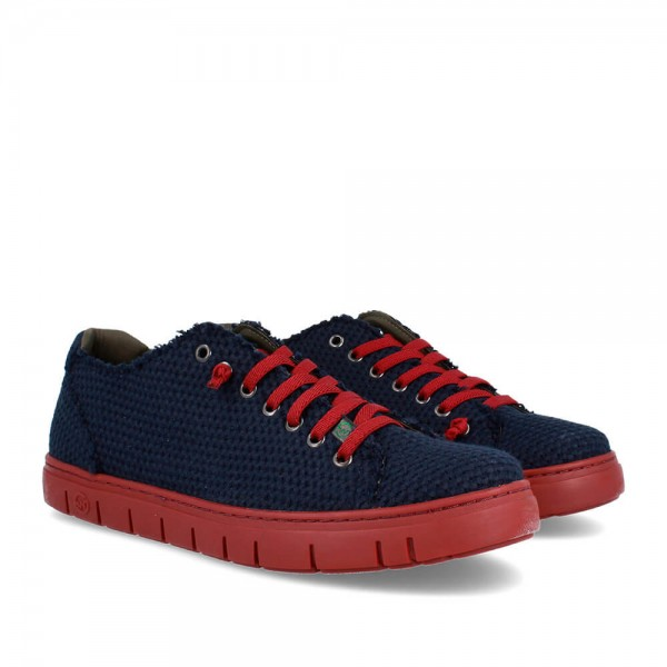 SNEAKERS KRAZ NAVY-WINE