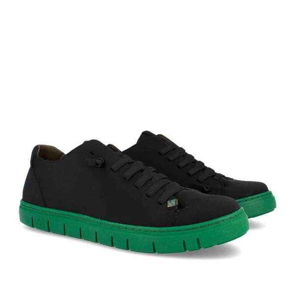 SNEAKERS KRAZ BLACK-GREEN