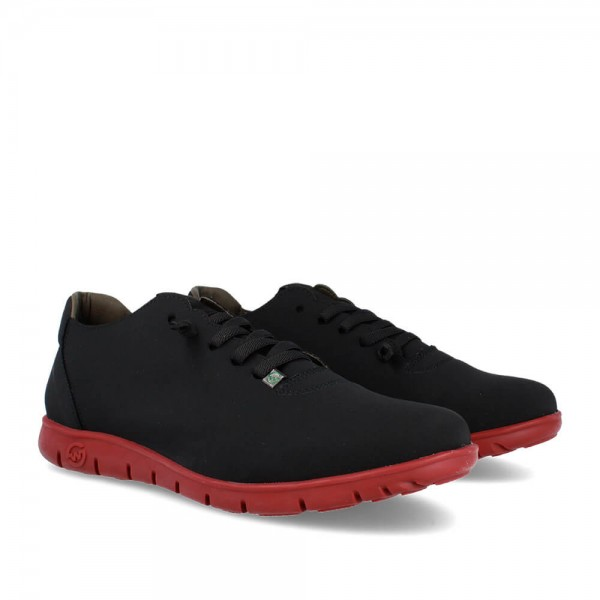 SNEAKERS MORVI BLACK-WINE