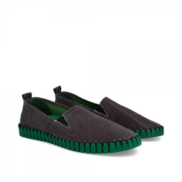 LONAS BONES BLACK-GREEN
