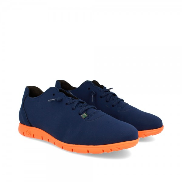 SNEAKERS MORVI NAVY-ORANGE