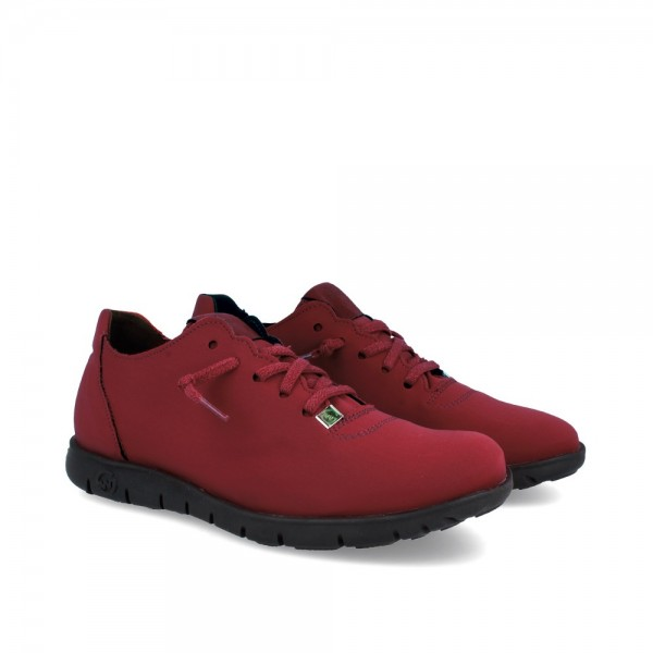 SNEAKERS MORVI WINE-BLACK