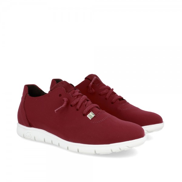 SNEAKERS MORVI WINE-BLANCO...