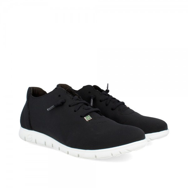 SNEAKERS MORVI BLACK-WHITE