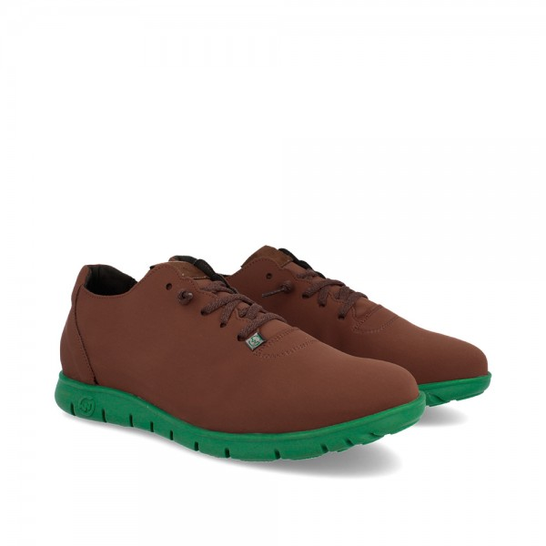 SNEAKERS MORVI BROWN-KHAKI