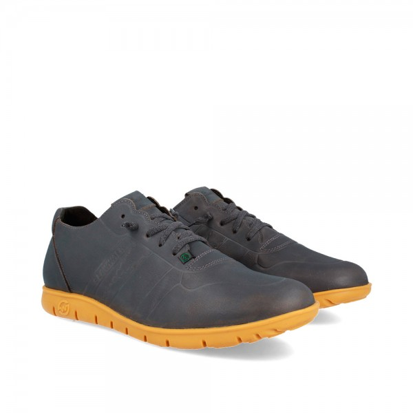 SNEAKERS MORVI GREY-OCHRE