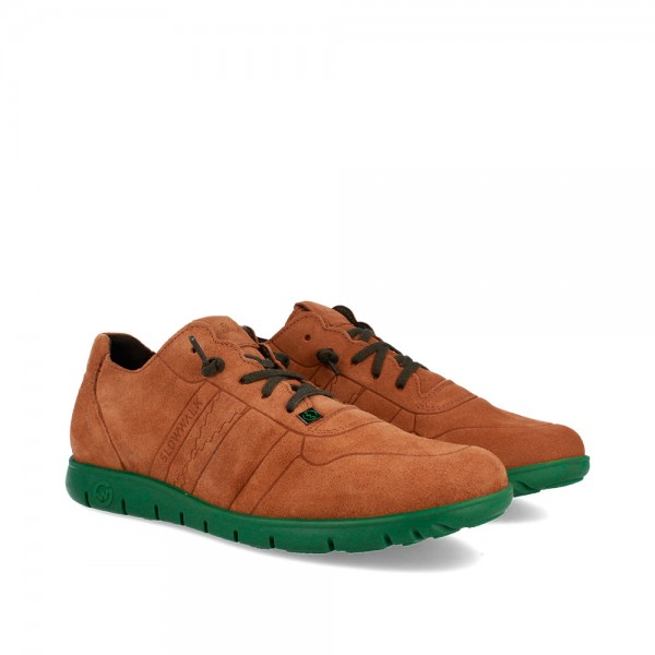 SNEAKERS MORVI TAN-GREEN