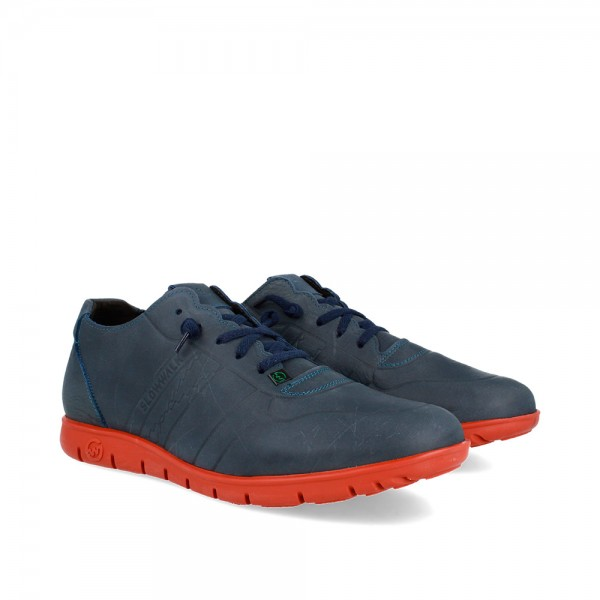 SNEAKERS MORVI NAVY-RUST