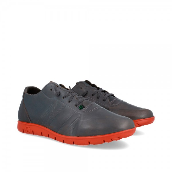 SNEAKERS MORVI GREY-RUST