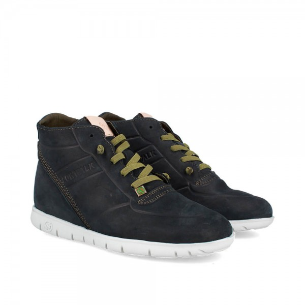 SNEAKERS MORVI-UP NEGRO-BLANCO