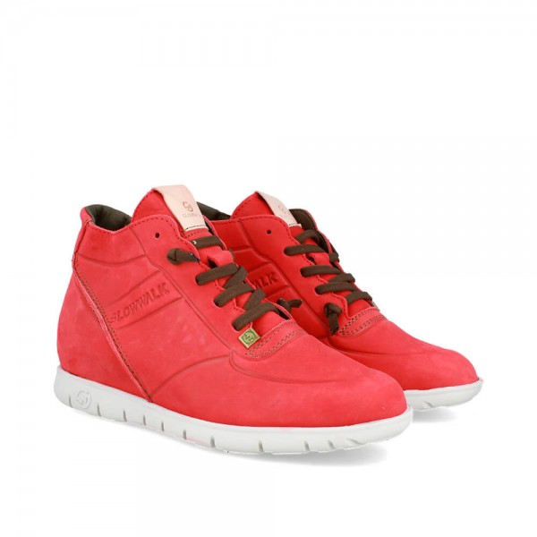 SNEAKERS MORVI-UP RED-WHITE