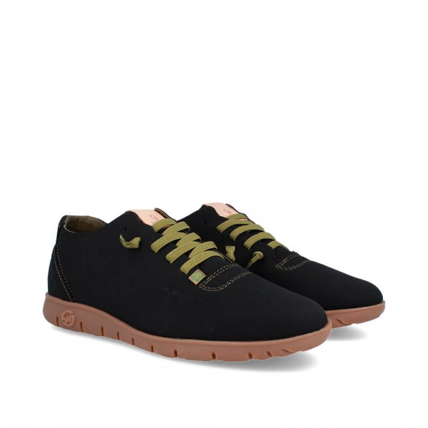 SNEAKERS MORVI BLACK-CANDY