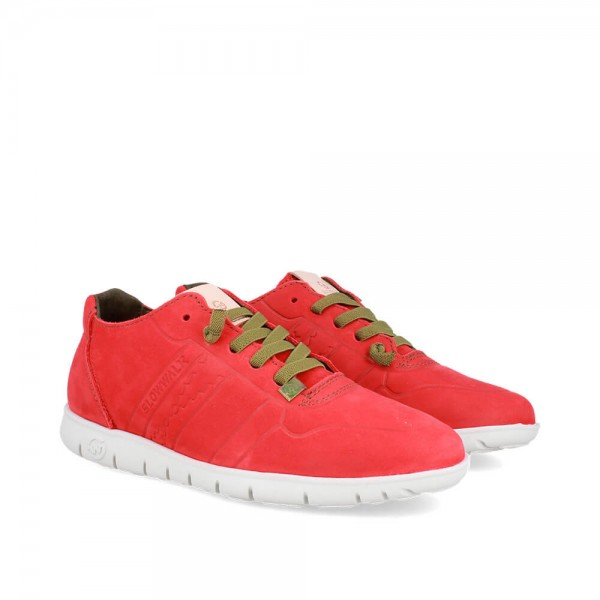 SNEAKERS MORVI RED-WHITE
