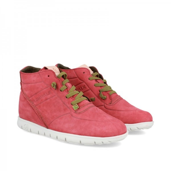 SNEAKERS MORVI-UP VINO-BLANCO