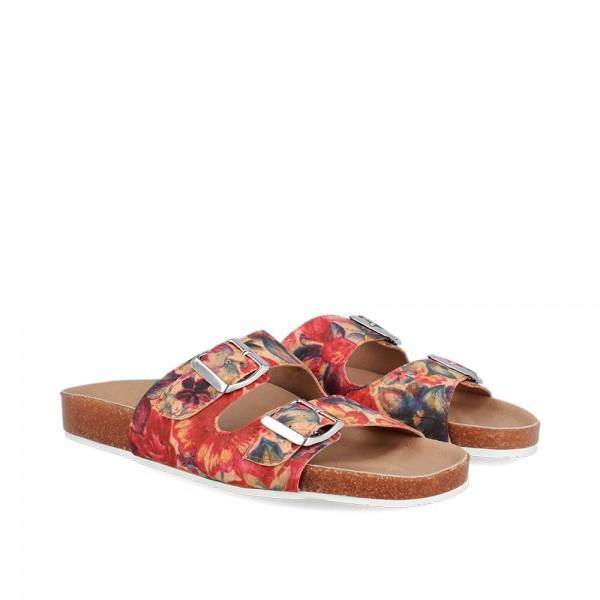 Sandals Biorvi Flower-White