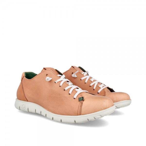 Sneakers Kraz Camel-Blanco