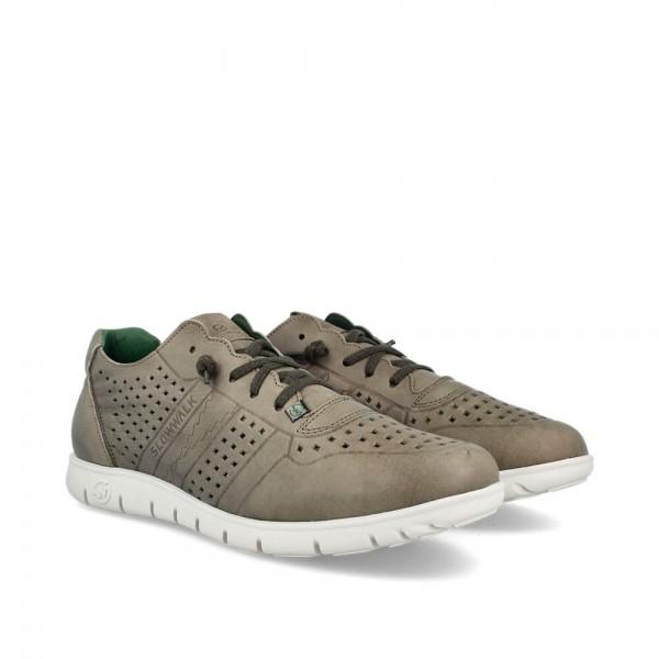 Sneakers Morvi Musgo-Blanco
