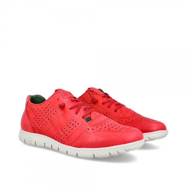 Sneakers Morvi Red-Blanco