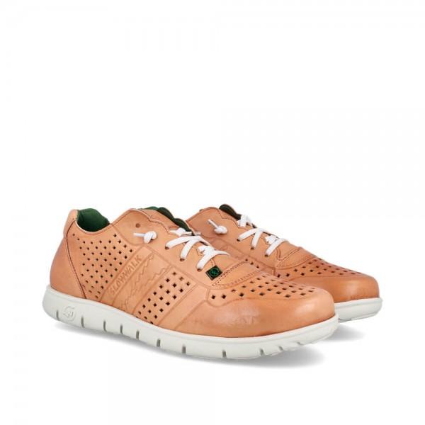 Sneakers Morvi Camel-Blanco