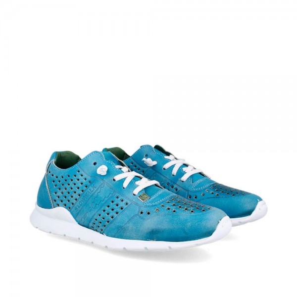 Sneakers Helios Jeans-Blanco
