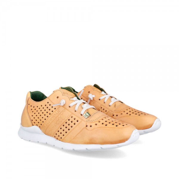 Sneakers Helios Yellow-Blanco