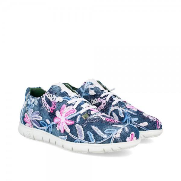 Sneakers Morvi Jeans-Blanco